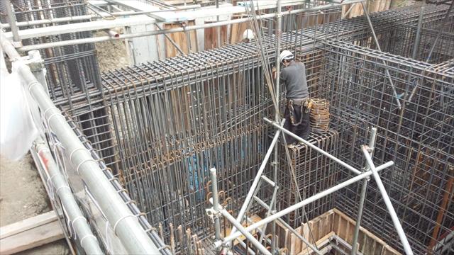 鉄筋工の仕事の流れ